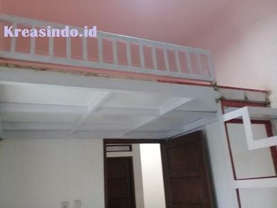 Mezzanine pemasangan di Rumah Bpk Andri Setiawan di Ciganjur Jagakarsa