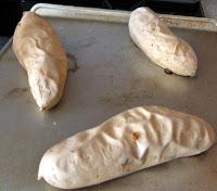 sweet potatoes, cooked