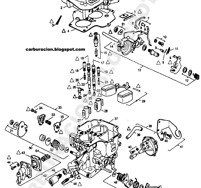 22r Carburetor Diagram. Diagrams. AutosMoviles.Com