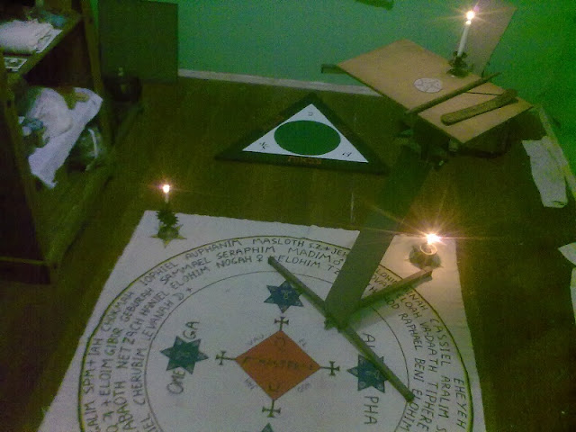 Goetia Triangle of Art and the Circle