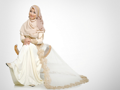 Gaun Pengantin Muslimah Anak Muda