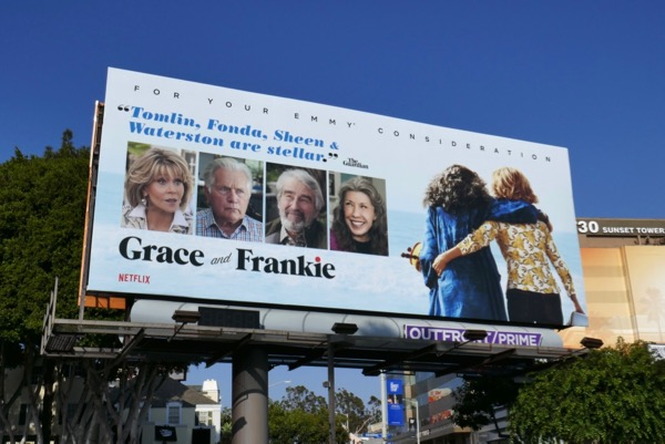 Grace and Frankie 2018 Emmy fyc billboard