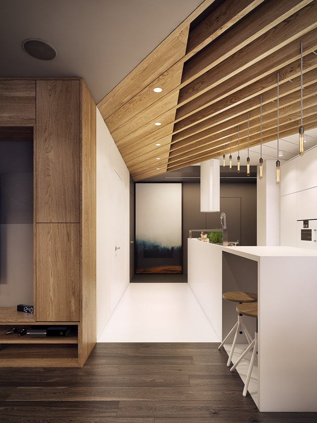 Kitchen Lighting Solutions For Concrete Ceilings