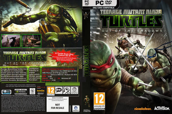Teenage Mutant Ninja Turtles Out Of The Shadows - Free ...