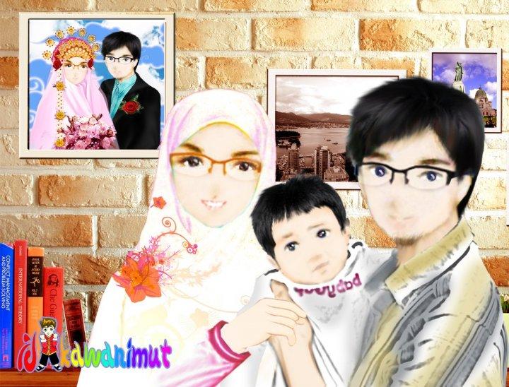 moslem cartoon colections: Koleksi gambar-gambar keluarga ...