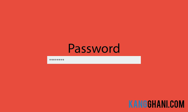 Cara Mengganti Password Windows 7