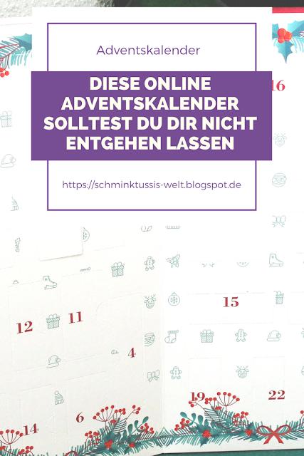 Online Adventskalender 2017