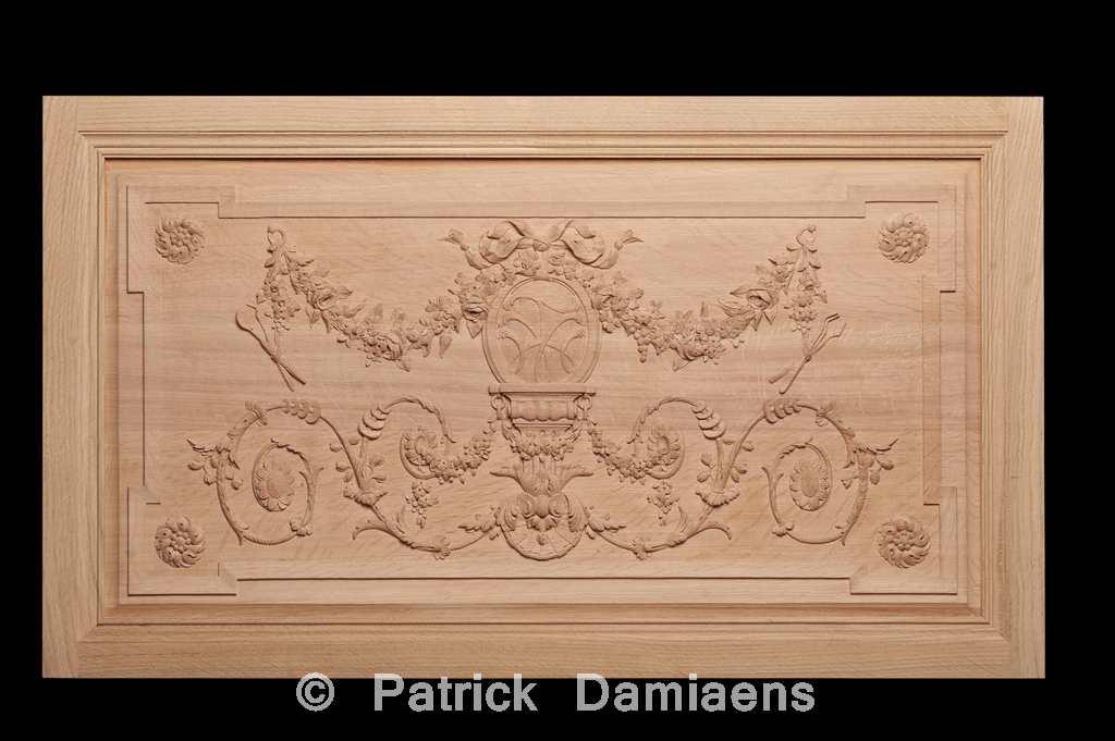 ornamentschnitzer patrick damiaens geschnitzter holzt felungen geschnitzter wandverkleidungen. Black Bedroom Furniture Sets. Home Design Ideas
