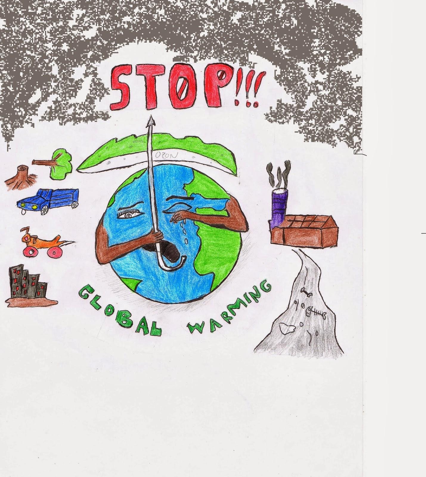 Contoh Gambar Poster Pencemaran Udara