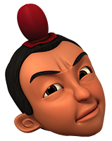 Gambar kepala aksara upin ipin format png Gambar Kepala Karakter Upin Ipin Format Png