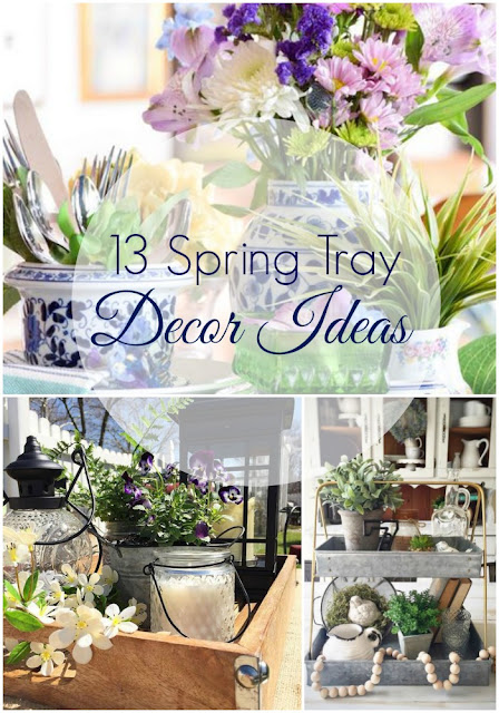 Spring Tray Decor Gallery