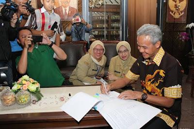 Upah Minimum Kabupaten Kota se jawa Tengah