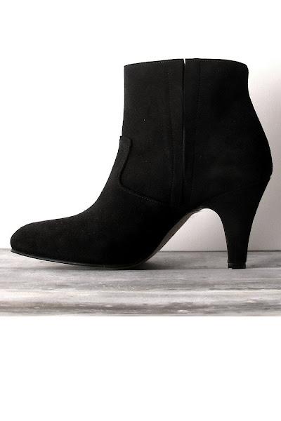 Boots noir Patricia Blanchet