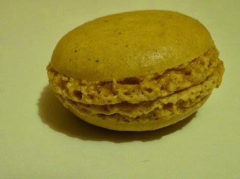 Le macaron citron basilic de la pâtisserie Gâteau Thoumieux de Jean François Piège.