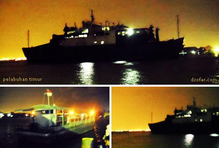 Pelabuhan Timur Kamal Madura