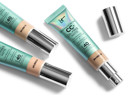 It Cosmetics Your Skin But Better CC+ Cream Oil-Free Matte Review Photos
