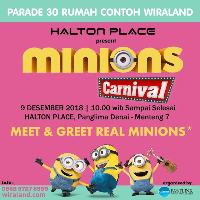 Liburan Akhir Tahun Di Minions Carnival Yuk! Banyak Parade Minions Yang Seru-Seru Lho!