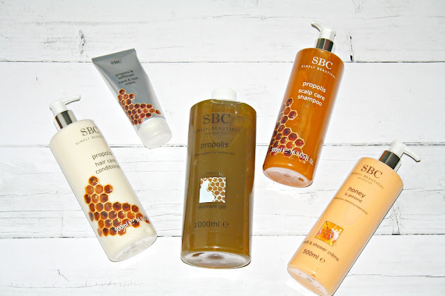 SBC Propolis TSV - Head to Toe Ritual from the Hive