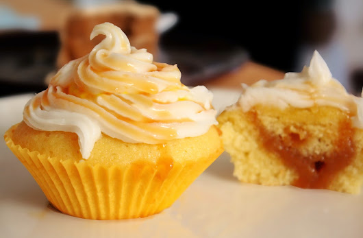 BUTTERSCOTCH CUPCAKE ~ Sindhoora's Kitchen