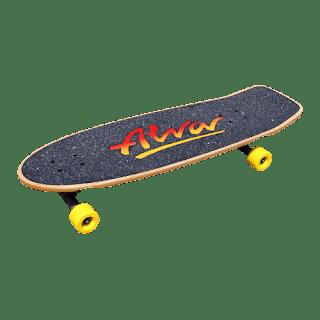 アルバクラシックピッグ aka アルバトライロゴで組んだカービングサーフスケート