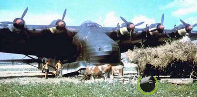 The Messerschmitt Me 323 Gigant