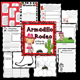 Armadillo Rodeo is a favorite for many. Have a Wild West time in your classroom, and check out this post for details on this unit.