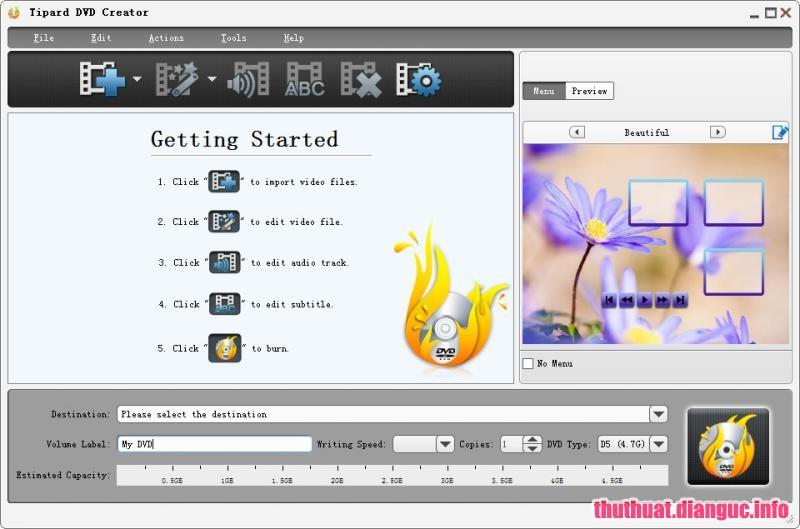 Download Tipard DVD Creator 5.2.22 Full Cr@ck