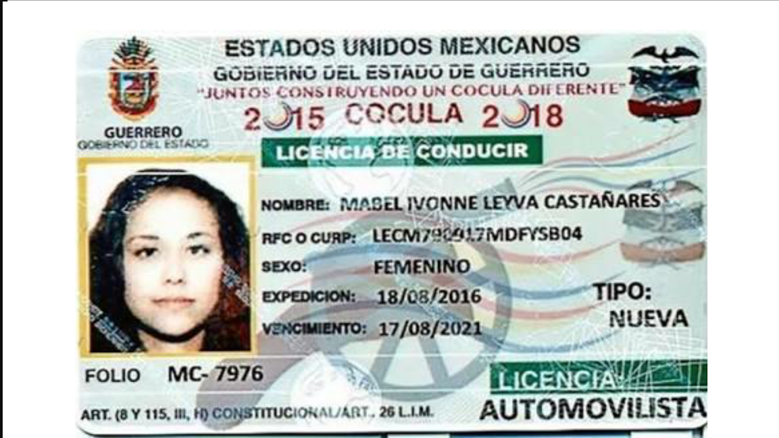 Michoacan Licencia De Conducir