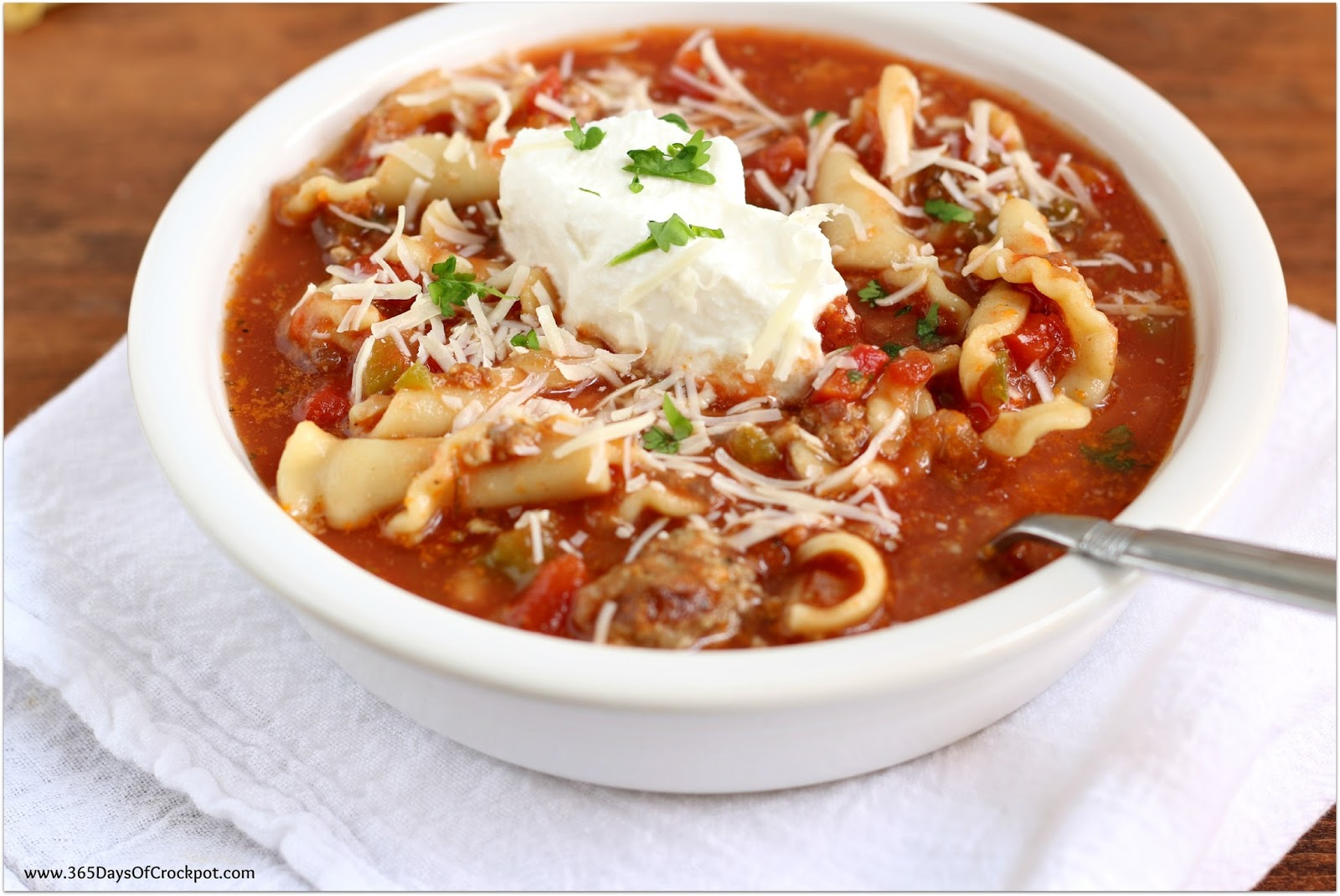 instant pot lasagna soup 365 days of slow cooking and pressure cooking