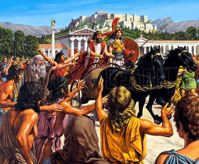 Peisistratus -  Athenian Leader