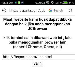 CARA GAMPANG & AMPUH Blokir UCBrowser dari Web Kita Blogger /Wordpress