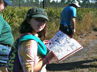 Hiking at Jonathan Dickinson State Park, Florida