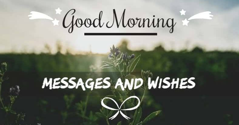 Best Good Morning Messages Wishes And Inspirational Quotes 2020