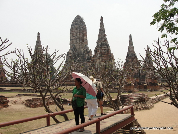 Wat Chaiwatthanaram at Ayutthaya Historical Park in Thailand