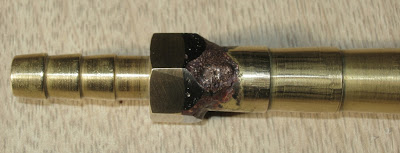 soldered joint