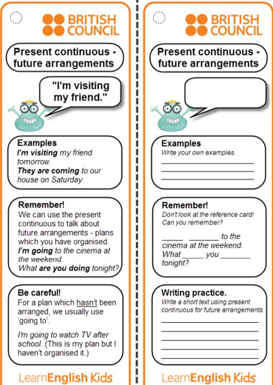 Road to English 2: Present Continuous for Future Arrangements