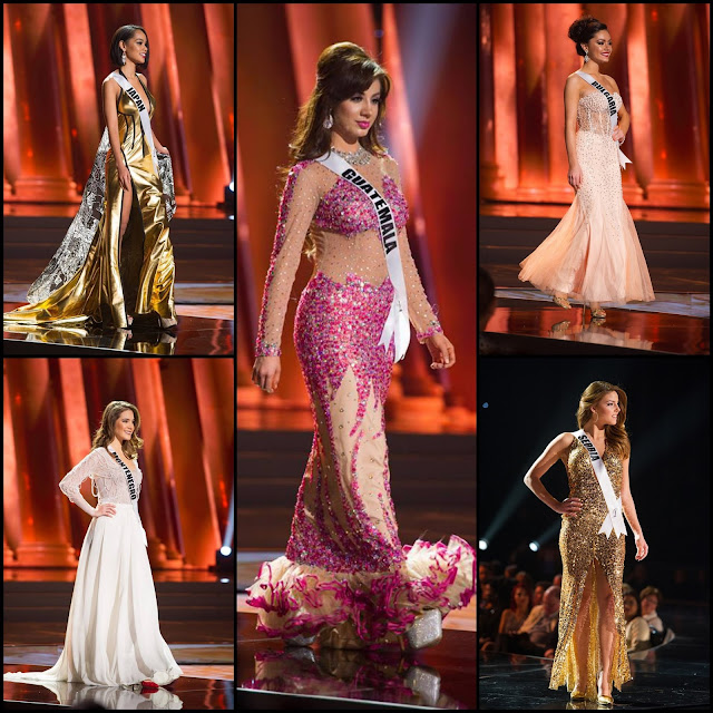 "SASHES AND TIARAS.....My Ten LEAST FAVORITE Gowns, Gown Disappointments of Miss Universe 2015 Preliminaries + a ""Special Gown"" Mention"