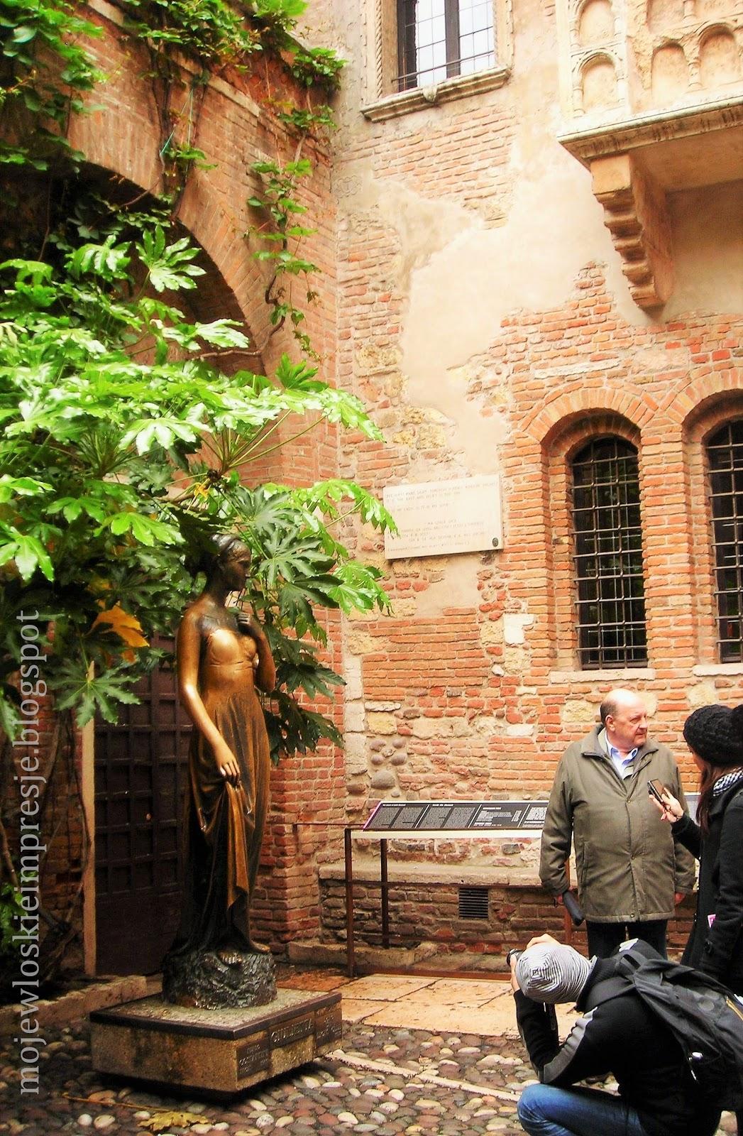 Moje Włoskie Impresje Casa Di Giulietta W Weronie