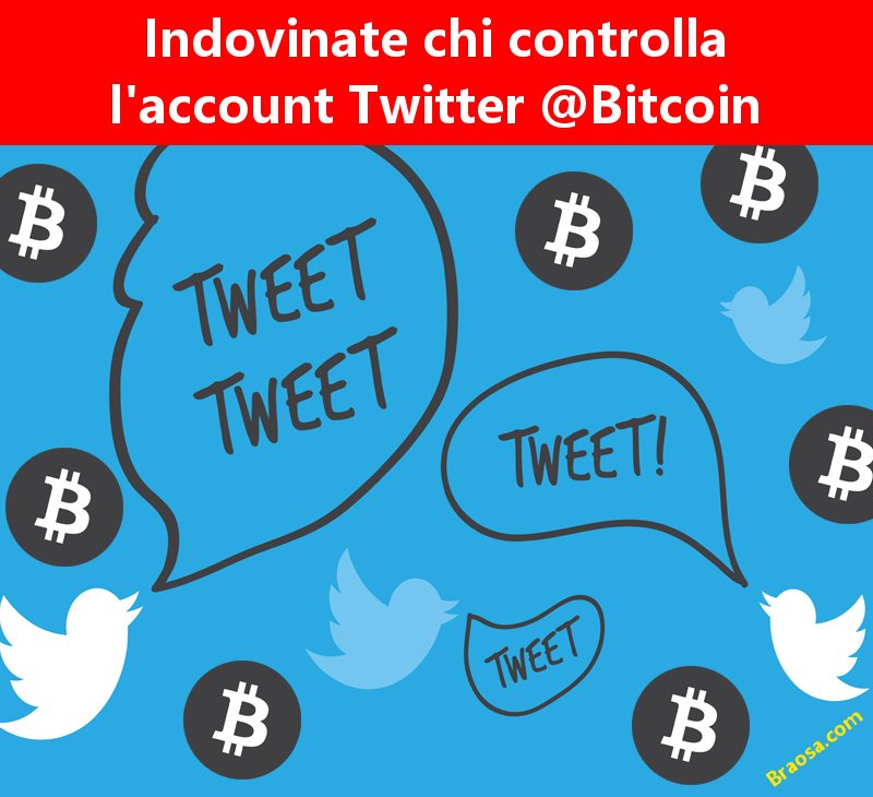 Chi è il proprietario dell'account Twitter @ Bitcoin