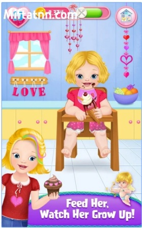 Game Mengasuh Anak Android My Emma MOD APK