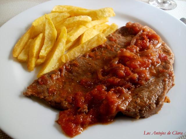 Carne en bisté