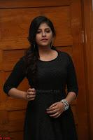 Anjali in Black Short Dress at Chitrangada Movie Success Meet 218.JPG