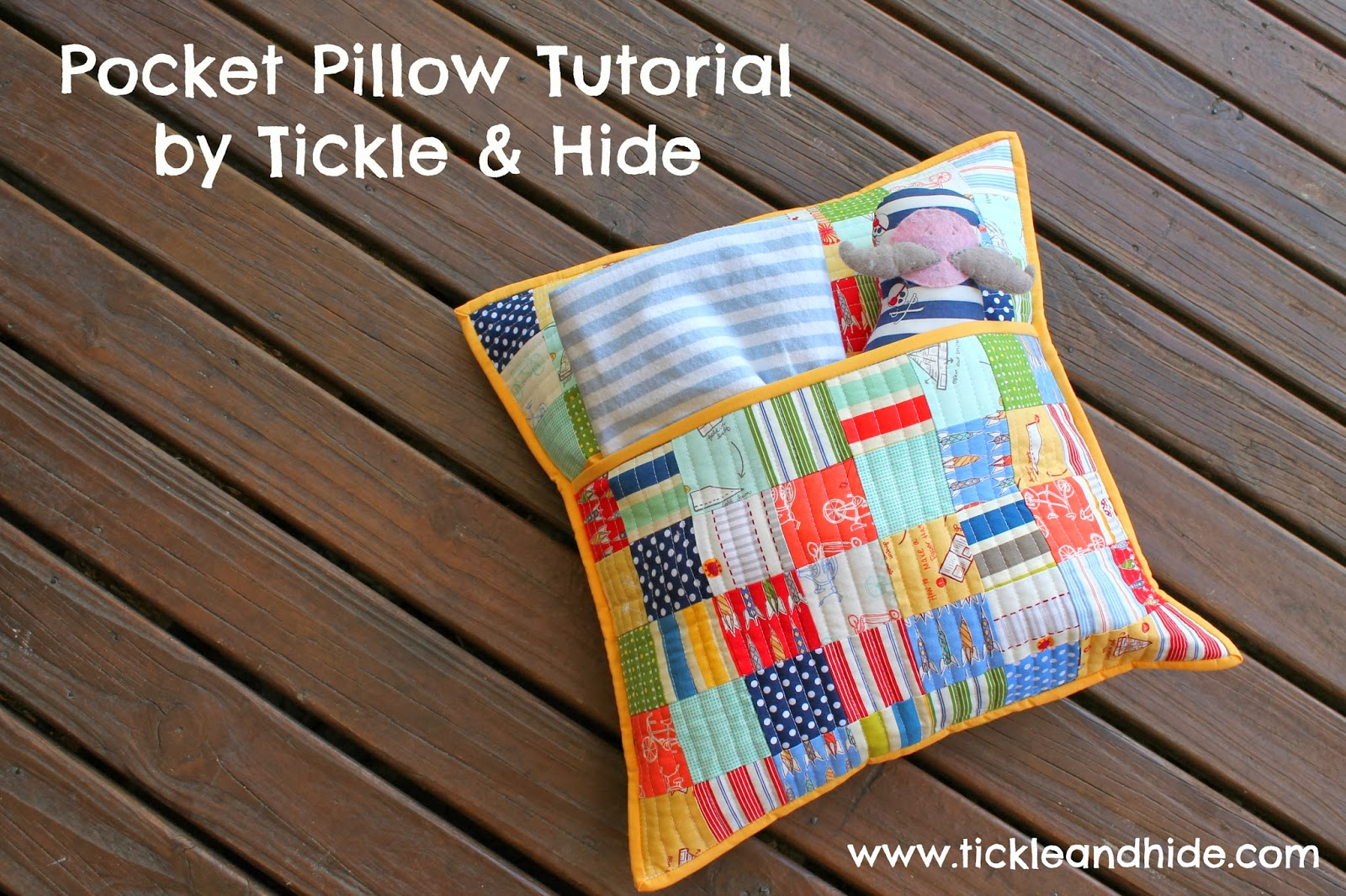 Tales of Cloth: Pocket Pillow Tutorial!