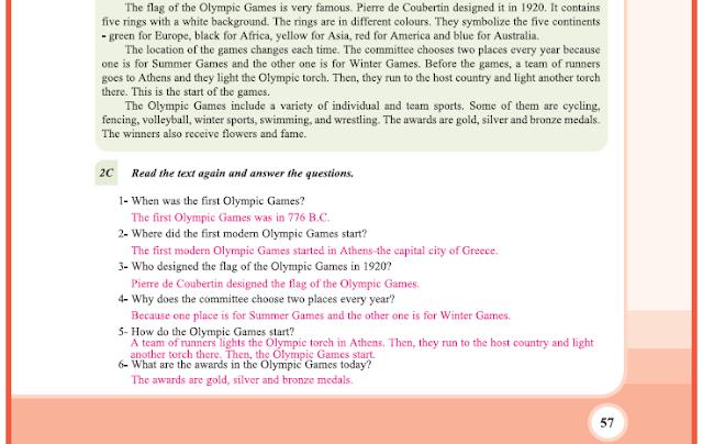 9. Sınıf Yıldırım Yayınları İngilizce A1.2 Ders Kitabı 57. Sayfa Cevapları Theme 4 Sports