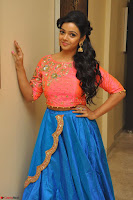 Nithya Shetty in Orange Choli at Kalamandir Foundation 7th anniversary Celebrations ~  Actress Galleries 042.JPG