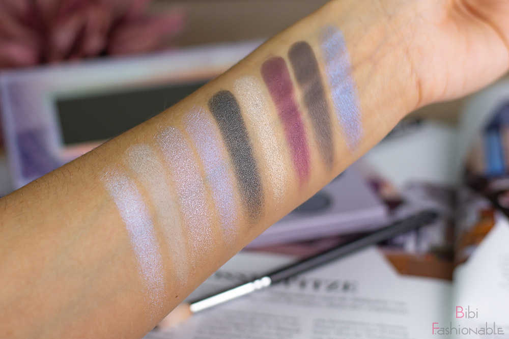 Hello New York eyeshadow Palette Swatches