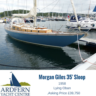 Morgan Giles 35' sloop for sale
