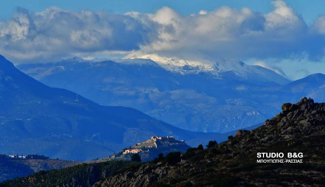Αργολίδα: Χιόνια στα ορεινά