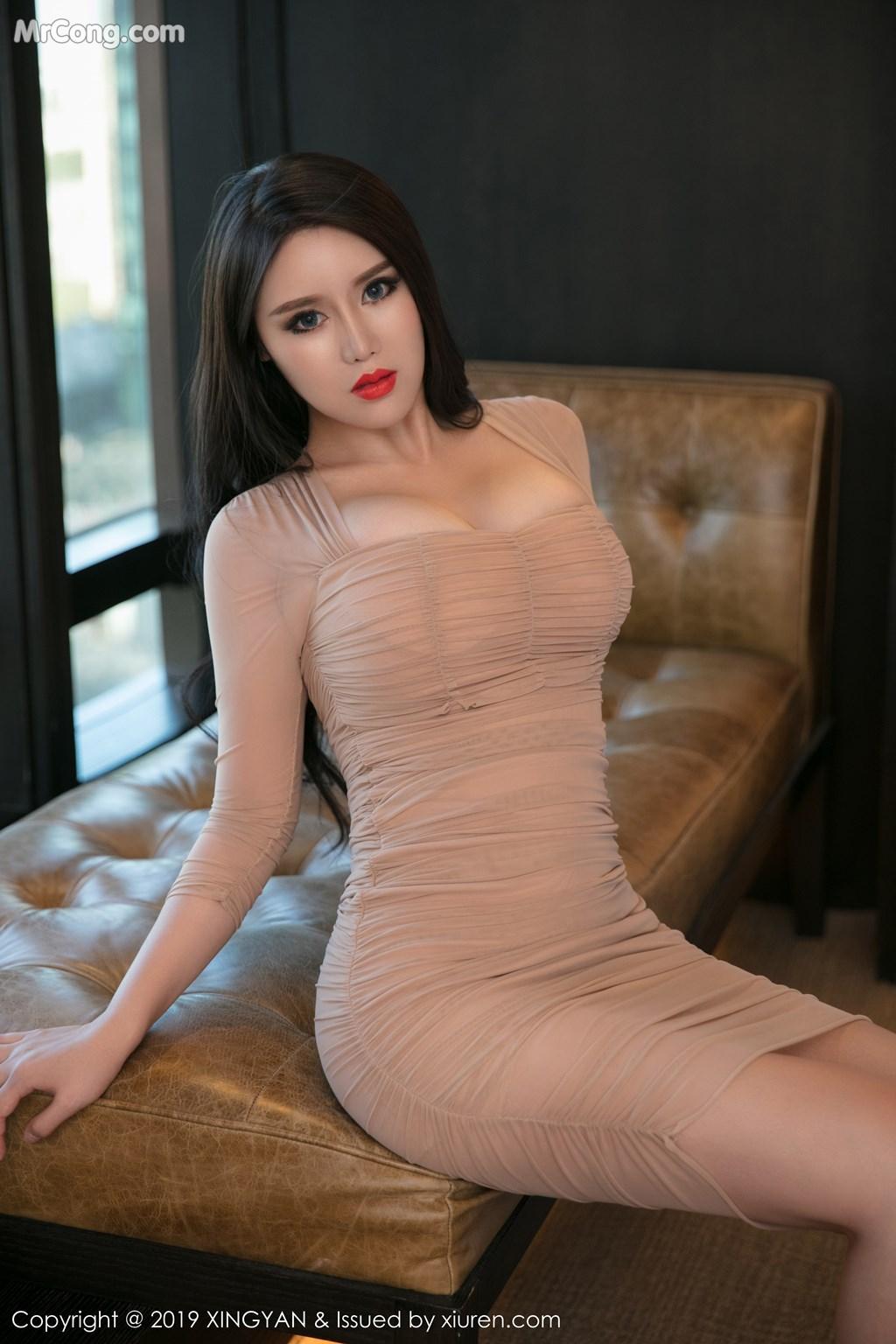 Image XingYan-Vol.111-Ke-Rui-Na-MrCong.com-025 in post XingYan Vol.111: Người mẫu Ke Rui Na (可蕊娜) (52 ảnh)