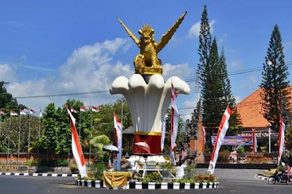 Inilah Makna Patung Singa Ambara Raja di Buleleng